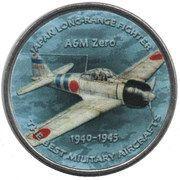 1 Shilling (A6M Zero) – reverse