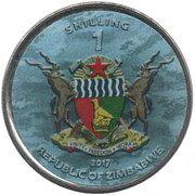 1 Shilling (Supermarine Spitfire) – obverse