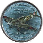 1 Shilling (Supermarine Spitfire) – reverse