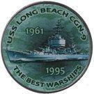 1 Shilling (USS Long Beach CGN-9) – reverse