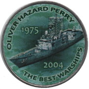 1 Shilling (Oliver Hazard Perry) – reverse