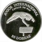 20 Dobras (Pommel Horse; Fantasy Issue) – reverse
