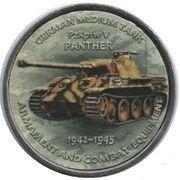 1 Shilling (PZKPFW V Panther) – reverse