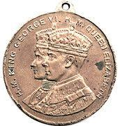 Medal - Royal Visit to Canada 1939 – obverse