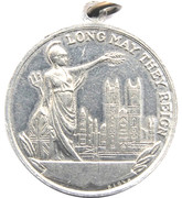 Medal - King George VI and Queen Elizabeth Coronation – reverse