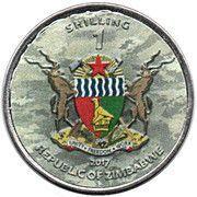 1 Shilling (Type 95 Ha-Go) – obverse