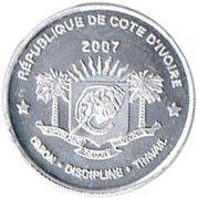 2500 Francs (Abolition of Slavery) – obverse