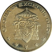 5 (Vatican City Euro Fantasy Token) – obverse