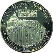 Medal - Pantheon Celebrites (Pierre et Marie Curie) -  obverse