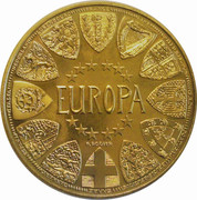Bi-centenary of the museum of the Louvre (Europa) – reverse
