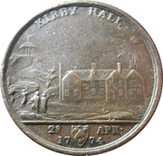 Medallion - Kirby Hall Lawfull Wedlock – obverse