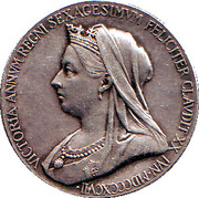 Medallion - Victoria (Diamond Jubilee) – obverse