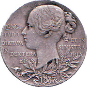Medallion - Victoria (Diamond Jubilee) – reverse