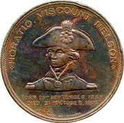 Medal - Admiral Horatio Lord Nelson – obverse
