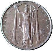 Medal - Edward VIII Coronation – reverse
