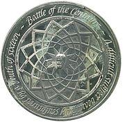 Medallion - The Genius of Michelangelo (Battle of the Centaurs) – reverse