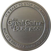 Token - The great game of business – obverse