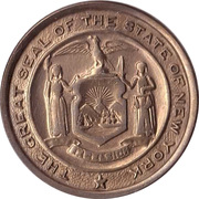 Token - Thirteen Colonies (New York) – obverse