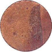 Token - Thirteen Colonies (South Carolina) – reverse