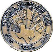 Victoria Numismatic Club medallion – obverse