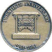 Victoria Numismatic Club medallion – reverse