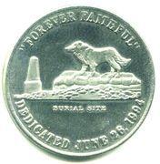 Token - Shep Memorial (Fort Benton, Montana) – reverse