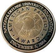 Medal - 2004 American Patriot Award (Bob Dole) – reverse