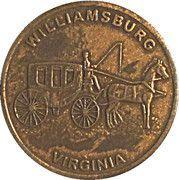 Medal - Jamestown's 400 th Anniversary (Williamsburg; Virginia) – reverse