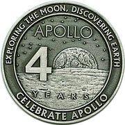 Medallion - Apollo 40th Anniversary – obverse