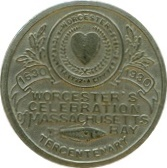 Worcester's Celebration Massachusetts Bay – obverse