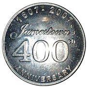 Medal - Jamestown's 400 th Anniversary (Jamestown; Godspeed) – obverse