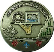 Medal - Club Timbres & Monnaies du Saguenay – obverse