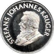 1/10 Ounce Silver (Kruger Commemorative) – obverse