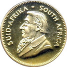 1 Krugerrand (1 oz Gold; Kruger Commemorative) – obverse