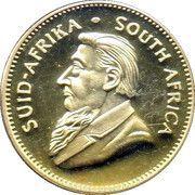 1 Krugerrand (1 oz Gold; Kruger Commemorative) – obverse