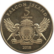 5 Dollars (Golden eagle) – obverse