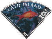 10 Dollars - Elizabeth II (Cato Island) – reverse