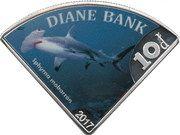 10 Dollars - Elizabeth II (Diane Bank) – reverse