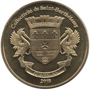 1 Franc (Akita Inu) – obverse