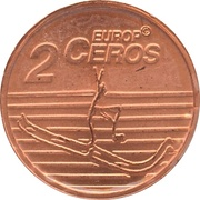 2 Europ Ceros (Norway & Faroe Islands Euro Fantasy Token) – reverse