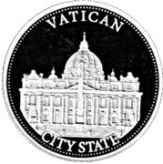¼ oz Silver (Vatican) – reverse
