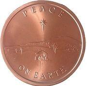 1 oz Copper (Peace on Earth) – obverse