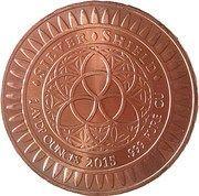 1 oz Copper (Peace on Earth) – reverse