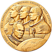 Medal - New Frontier – obverse