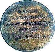 Medal - Prince de Ligne – reverse