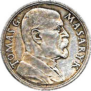 Medal - Tomas G. Masaryk (85th birthday) – obverse