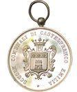 Educational medal of merit (communal school of Castelfranco in Emilia) – obverse