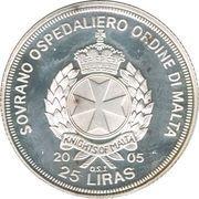 25 Liras (Pope John Paul II) – obverse