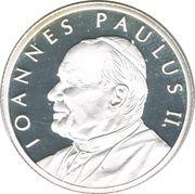 25 Liras (Pope John Paul II) – reverse
