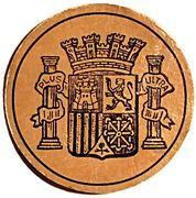 10 Céntimos (Spain) – obverse